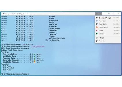 Microsoft выпустила первую предварительную версию Windows Terminal для Windows 10