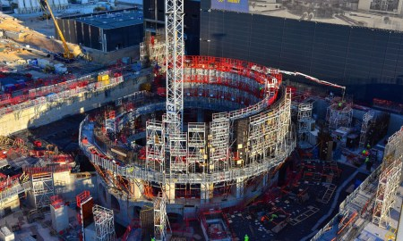 Определена дата запуска термоядерного реактора ITER