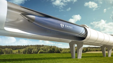 На рынке вакуумных поездов появился новый игрок — нидерландский стартап Hyperloop Hardt