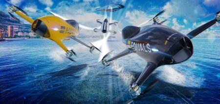 Австралийский стартап Alauda анонсировал гонки пилотируемых мультикоптеров