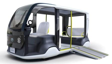 Во время Олимпиады-2020 на дороги Токио выйдут 200 электрических шаттлов, разработанных Toyota