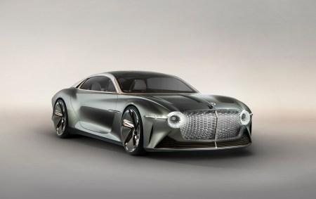 В честь 100-летия бренда британцы представили концепт электромобиля Bentley EXP 100 GT с разгоном до сотни за 2,5 секунды и запасом хода 700 км