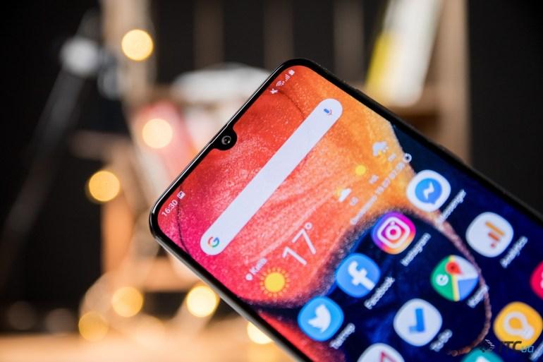 Опыт использования Samsung Galaxy A50: Super AMOLED дисплей в продвинутом среднем уровне