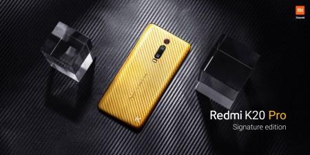 Xiaomi предлагает ограниченную версию Redmi K20 Pro Signature Edition в золоте и бриллиантах, «всего» за $7000