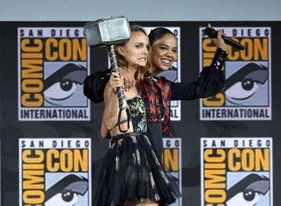 Черная Вдова, Тор, Вечные и… Блэйд: Что показала студия Marvel на Comic-Con 2019