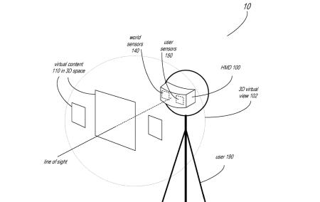 Apple запатентовала гарнитуру дополненной реальности, способную отслеживать мимику всего лица