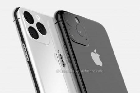 Макеты Apple iPhone 11 засветились на видео и демонстрируют модуль камеры с двойным возвышением