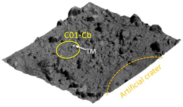 Межпланетная станция «Хаябуса-2» во второй раз взяла пробы грунта с астероида Рюгу [Фотографии]