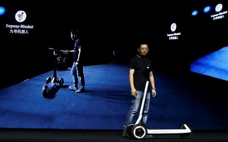 Segway-Ninebot Group представила электросамокат, который может практически самостоятельно доехать до зарядной станции