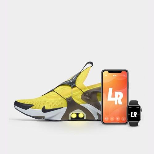 Новые кроссовки Nike с функцией автошнуровки будут поддерживать управление посредством голосового ассистента Siri