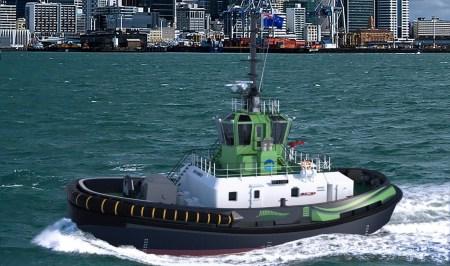 Порт Окленда обзаведется электрическим буксиром