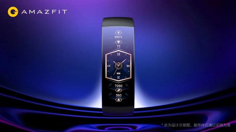 Huami показала «часы из будущего» Amazfit X Concept Watch с изогнутым дисплеем
