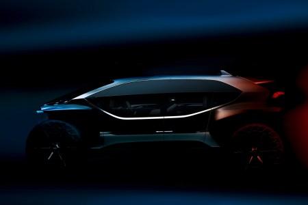 Audi привезет во Франкфурт необычный концепт электрического внедорожника будущего AI:TRAIL quattro