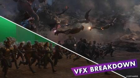 Как снимали финальную битву супергеройского фильма Avengers: Endgame / «Мстители: Финал» [видео]