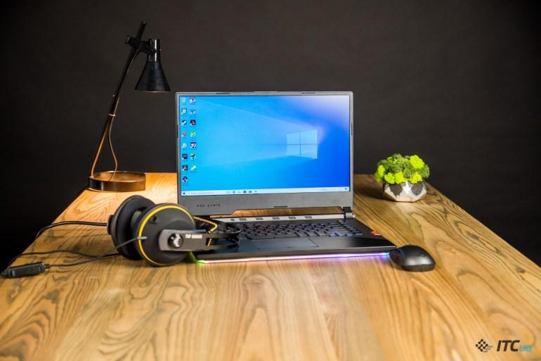 Обзор игрового ноутбука ASUS ROG Strix SCAR III G531GW