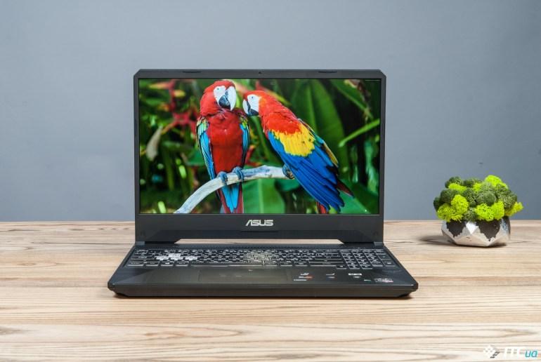 Обзор игрового ноутбука ASUS TUF Gaming FX505DU
