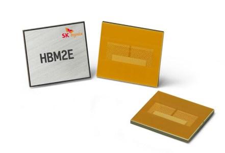 SK Hynix сообщила о разработке памяти HBM2E с пропускной способностью 460 ГБ/с