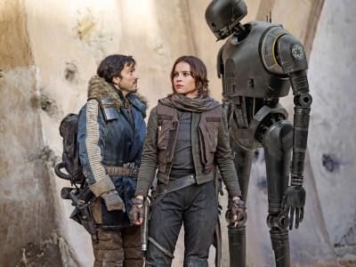 Третий сериал по Star Wars для платформы Disney+ начнут снимать в следующем году, он расскажет о повстанцах Кассиане Андоре (Диего Луна) и K-2SO (Алан Тьюдик)