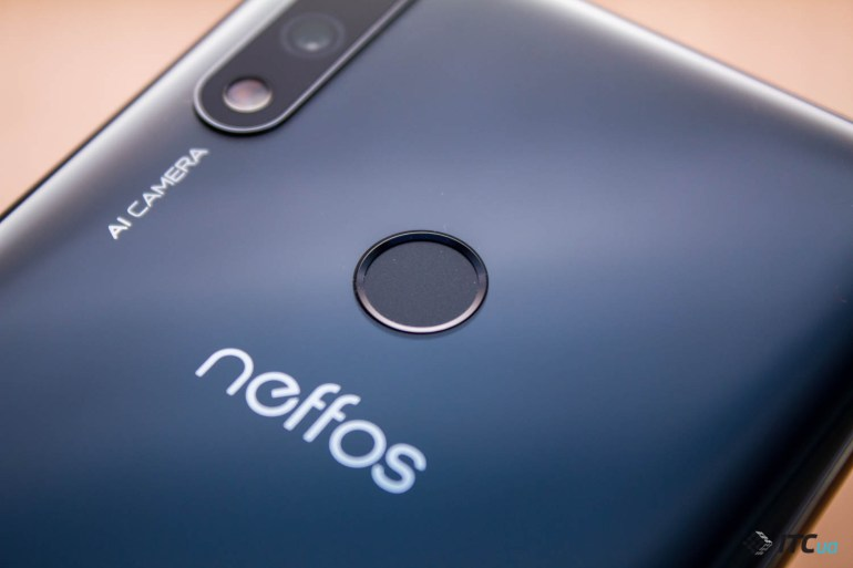 Neffos X20 Pro сканер