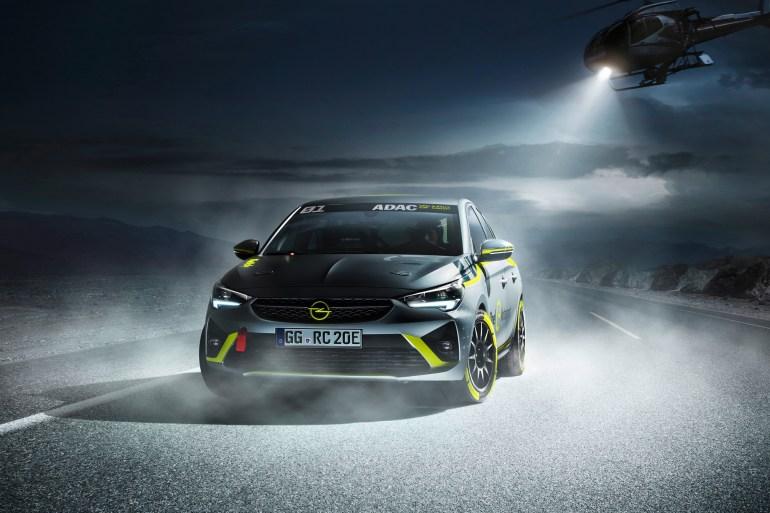 Opel представил первый в мире раллийный электромобиль 01