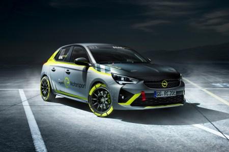 Opel представил раллийный электромобиль Corsa-e Rally стоимостью 50 тыс. евро на основе одноименной серийной модели