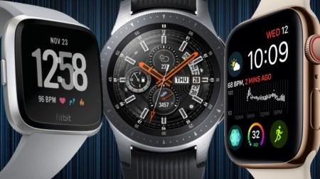 За второй квартал текущего года было продано 12,3 млн умных часов (рост 44%), в лидерах — Apple, Samsung и Fitbit