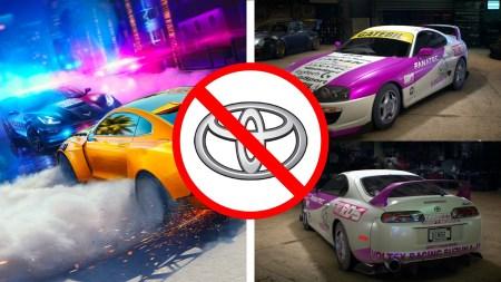 Toyota заявила, что ее автомобилей нет в Need for Speed Heat потому что игра популяризирует нелегальные уличные гонки (NFS ответил «Пфф, ботаны»)