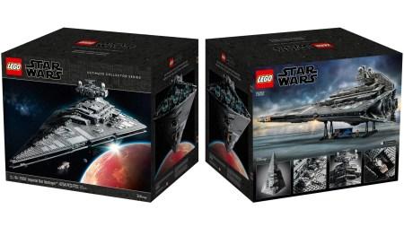 Линейка Lego Ultimate Collector Series пополнится метровой моделью «Звездного разрушителя» стоимостью $700