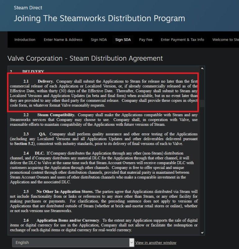 Valve запретила разработчикам и издателям игр анонсировать проекты в Steam, но при этом делать их эксклюзивами других платформ [Обновлено]