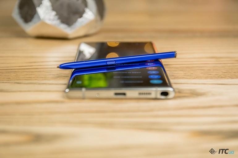 Galaxy Note10+ перо
