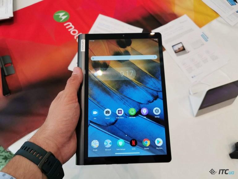 Lenovo на IFA 2019: умный дисплей Smart Display 7, планшеты Yoga Smart Tab и Smart Tab M8