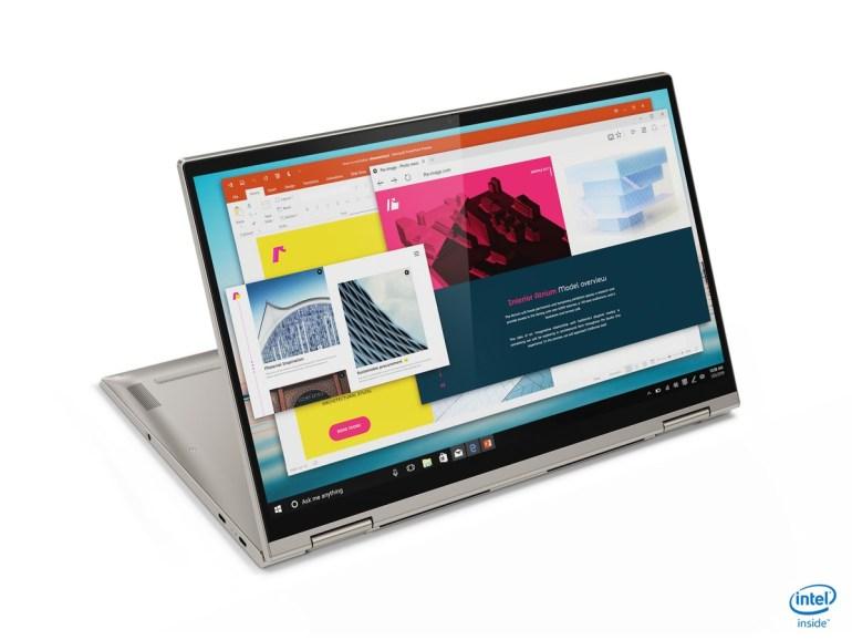 Первый взгляд на ноутбуки Lenovo Yoga C940, C740, S740 и C640