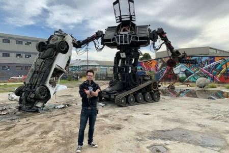 Компания MegaBots обанкротилась, гигантского робота Eagle Prime продают на eBay по стартовой цене $1