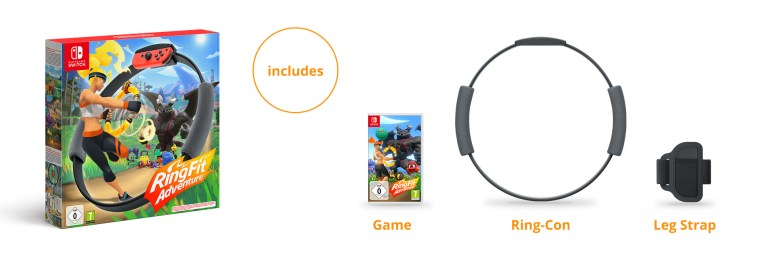 Nintendo представила фитнес-игру и аксессуары Ring Fit Adventure для консоли Switch, продажи стартуют 18 октября по цене $80 [видео]
