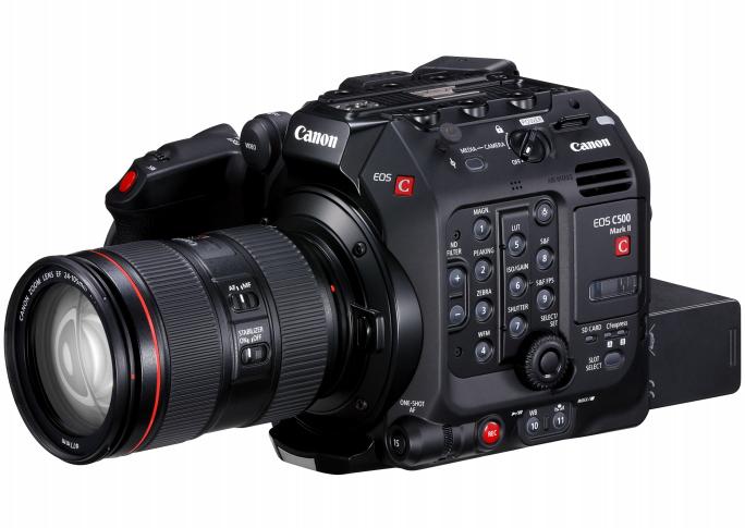 Анонсирована кинокамера Canon EOS C500 Mark II с поддержкой записи видео 5.9K и 4K с частотой 60p и ценой $16 тыс.