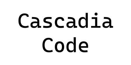 Microsoft представила новый открытый шрифт Cascadia Code для эмуляторов терминалов и редакторов кода