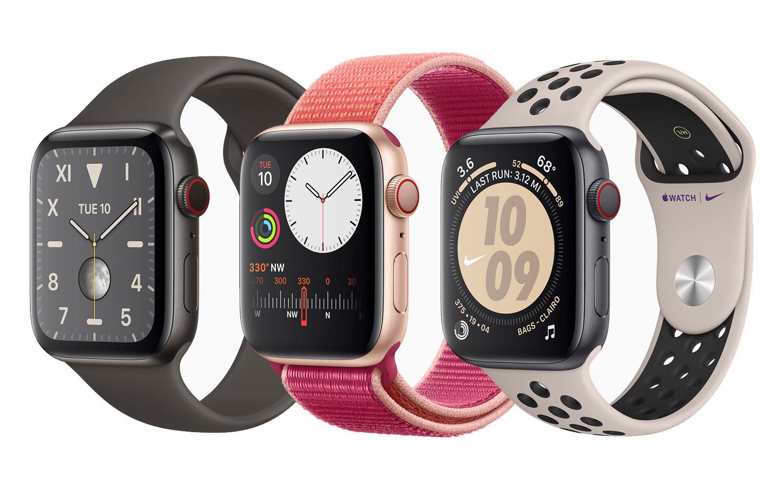Apple Watch Series 5 40mm Sport Band