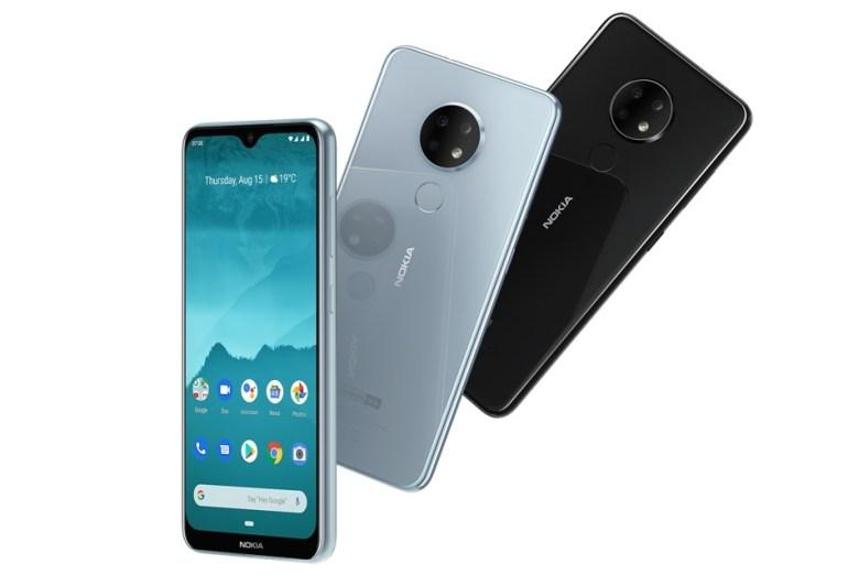 Одно лицо на двоих. Среднебюджетные смартфоны Nokia 6.2 и Nokia 7.2 с круглыми тройными камерами представлены официально