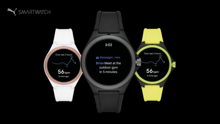 Puma представила свои первые умные часы на Wear OS, созданные совместно с Fossil