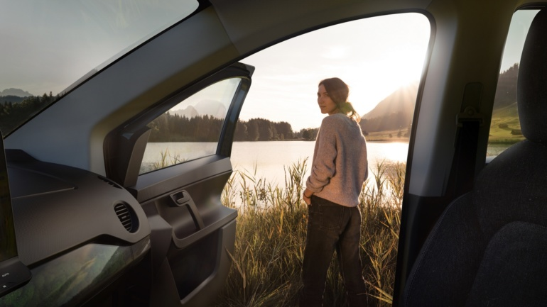 """Немцы показали интерьер """"солнечного"""" электромобиля Sono Sion с живым лишайником в системе фильтрации воздуха"""