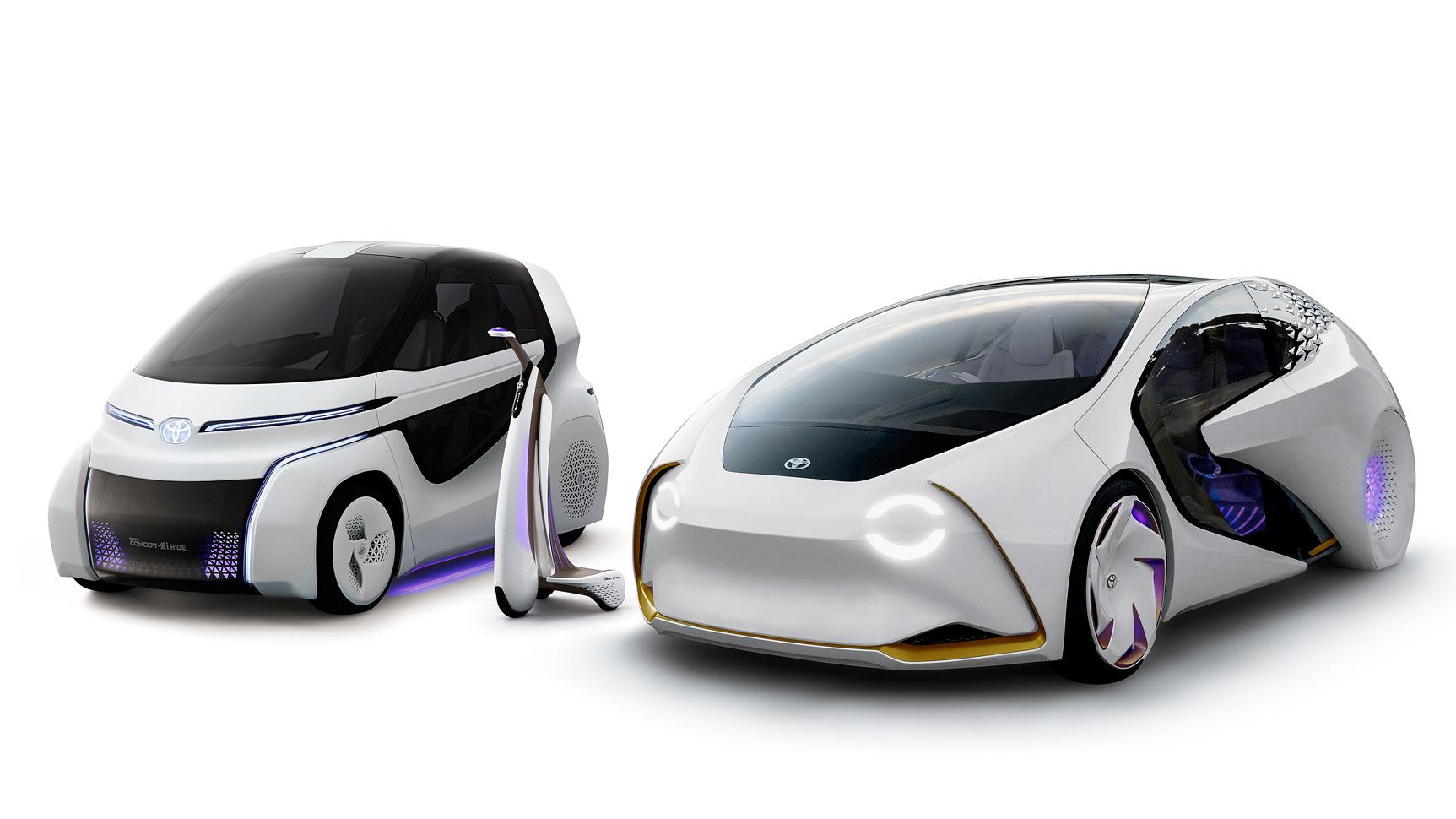 Тойота представит футуристический концепт-кар сискусственным интеллектом