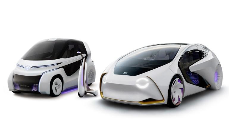 """Toyota LQ - максимально футуристичный концепт автономного электромобиля со встроенным искусственным интеллектом """"Yui"""""""
