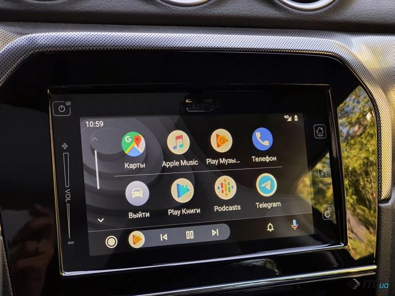 Обновление Android Auto: фокус на приложения