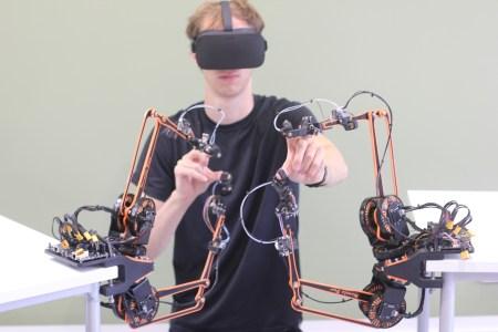 Британские инженеры разработали «дешевый» контроллер с тактильной обратной связью Mantis