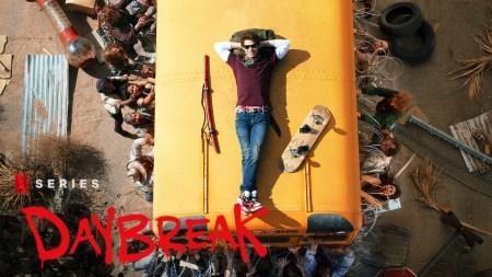 Полноценный трейлер комедийного молодежного постапокалиптического сериала Daybreak / «Рассвет» от Netflix в стиле Mad Max