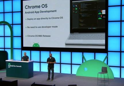 Chrome OS 80 упростит загрузку приложений Android из сторонних источников