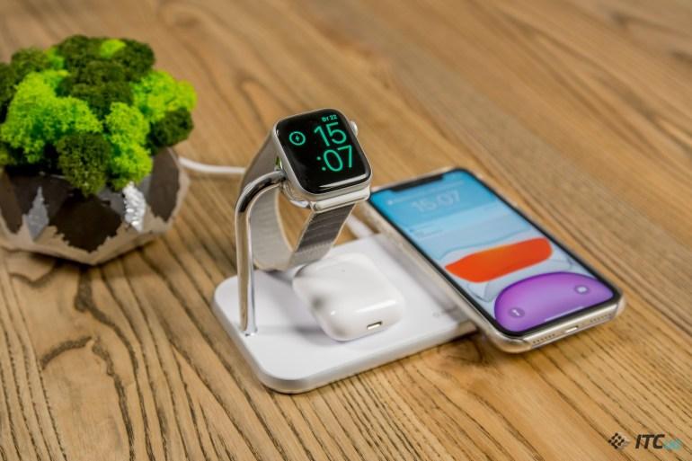 Обзор док-станций ZENS Dual+Watch и ZENS Stand+Dock+Watch: одновременная зарядка iPhone, Apple Watch и AirPods