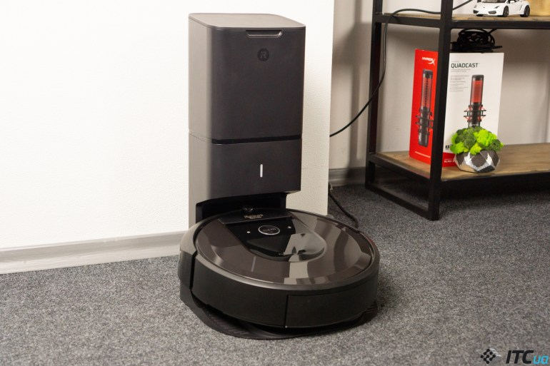 Roomba i7+ - обзор робота-пылесоса от iRobot