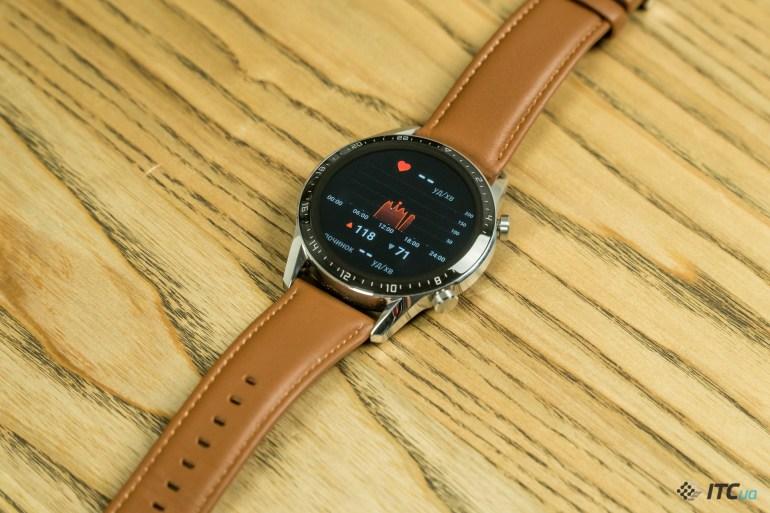 Huawei Watch GT2 пульсометр