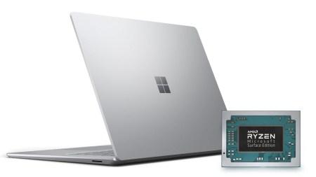 AMD представила самые производительные мобильные APU Ryzen 5 3580U и Ryzen 7 3780U. Именно они используются в новом 15-дюймовом ноутбуке Surface Laptop 3